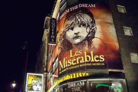 Encore Tickets - Les Miserables Theater Show - Save 0%