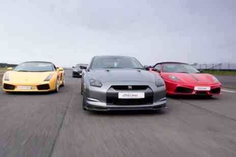 Everyman Racing - Supercar Driving Experience with Up to Four Cars - Save 34%