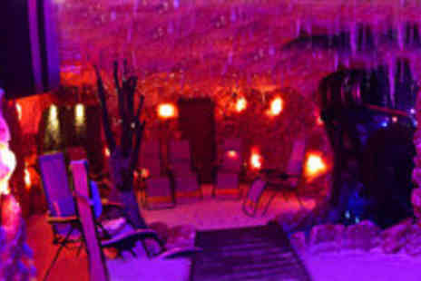 Himalayan Salt Cave - Two 45 minute salt therapy sessions with lunch and drinks - Save 65%