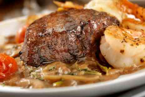 Hardwick Arms - Grilled Rump Steak with Wine for Two or Four - Save 33%