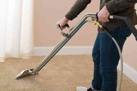 The Upholstery and Carpet Cleaning Co - Carpet Cleaning of One or Two Rooms - Save 0%