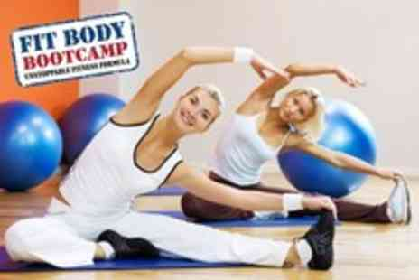 Fit Body Bootcamp - Two weeks of unlimited indoor bootcamp with Fit Body Bootcamp - Save 81%