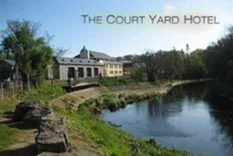 The Court Yard Hotel - In Co. Kildare Two Night Stay For Two With Breakfast, Three Course Meal and Late Check Out - Save 45%