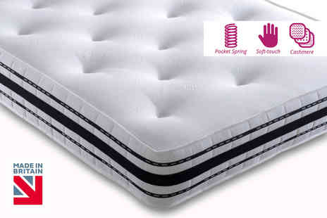 Dining Tables - Small single or single cashmere 2500 pocket spring mattress - Save 85%