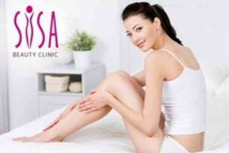 Sisa Beauty Clinic - Six Sessions of IPL Hair Removal on Either Large, Medium or Small Areas, Such as Half Leg and Full Bikini - Save 85%