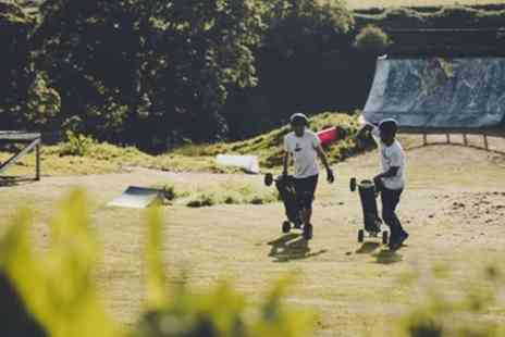 Harthill Adventure Park - Mountainboarding Beginners Session for Up to Four - Save 60%