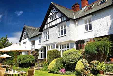 Lindeth Howe Country House Hotel & Restaurant - Lake Windermere break including dinner & bubbly - Save 39%