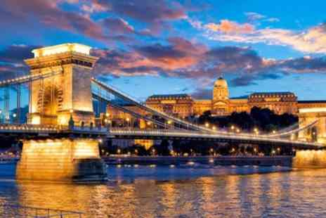 Travel Interaction - Deluxe Budapest break with flights, wine & river cruise - Save 0%