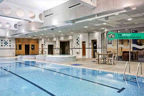 DoubleTree by Hilton - Spa day for one person with a 25 minute Elemis massage, 25 minute Elemis facial - Save 51%
