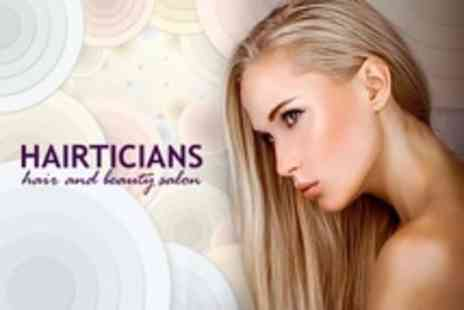 Hairticians - Full Head Highlights With Cut and Blow Dry - Save 66%