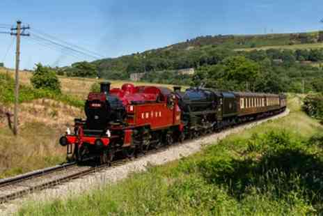 Keighley and Worth Valley Railway - Day Rover with Extras and Optional Cream Tea for Up to Four - Save 33%