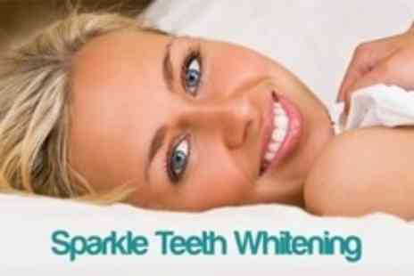 Sparkle Teeth Whitening - LED Teeth Whitening Treatment For One - Save 81%