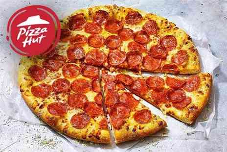 Pizza Hut - Two large pizzas from Pizza Hut collection or delivery - Save 44%