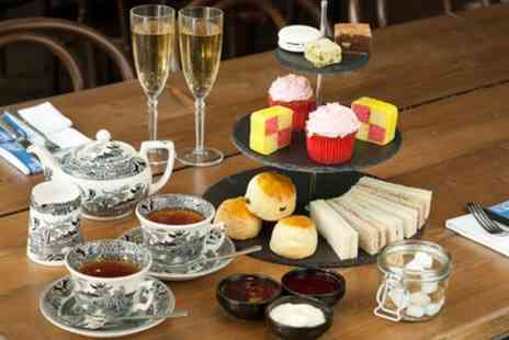 La Parisienne - French Afternoon Tea with Optional Prosecco for Two - Save 32%