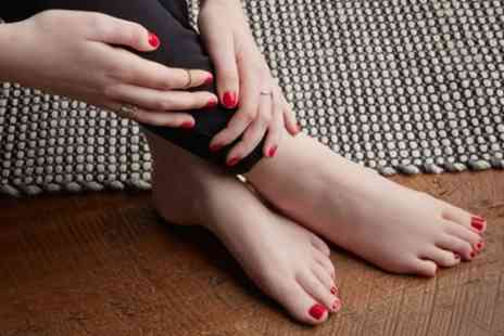 Exquisite Hair and Beauty - Deluxe Manicure, Pedicure or Both - Save 45%