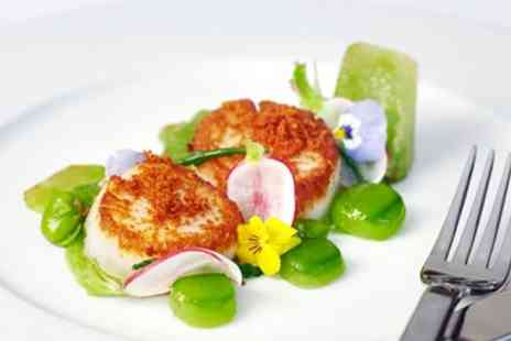 Hilton Park Lane - AA Rosette meal for 2 with bottle of wine - Save 63%