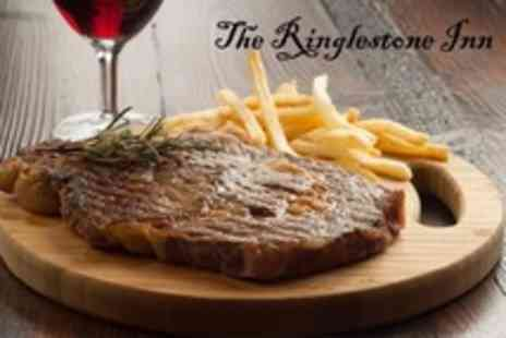 The Ringlestone Inn - British Fare Two Course Meal For Two - Save 60%