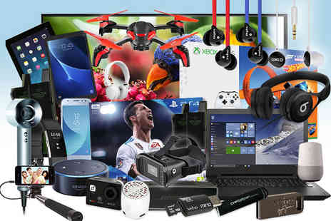 Brand Arena - Mystery Electronics Deal from Samsung, Sony, Lenovo, JVC, Veho and more - Save 0%