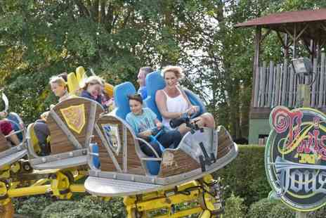 Gullivers - Overnight stay for a family of four in a Wild West Cabin including two day Gullivers Land Theme Park, Splash Zone and Dinosaur & Farm Park entry - Save 24%