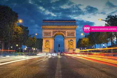 Weekender Breaks - Two or three night Paris stay and return flights - Save 34%