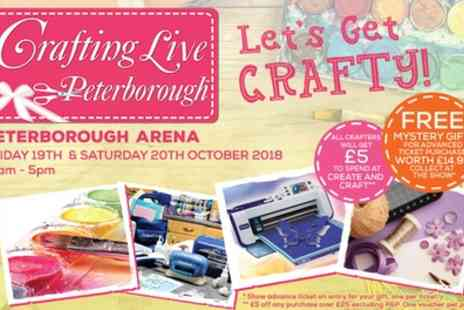 Crafting Live - One or Two Day Tickets to Crafting Live on 19 or 20 October - Save 40%