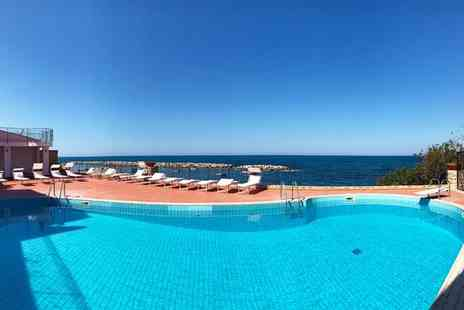 Hotel Tonnara di Trabia - Four Star Sea View Hotel Stay For Two, 30 Minutes from Palermo - Save 74%