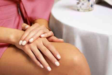 Oasis Beauty - Full Shellac Manicure or Pedicure or Both - Save 37%
