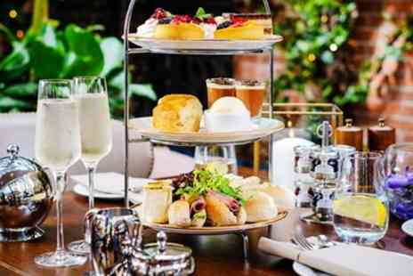 The Bears Paw Hotel - Afternoon tea for 2 & bubbly in 19th century Cheshire inn - Save 38%