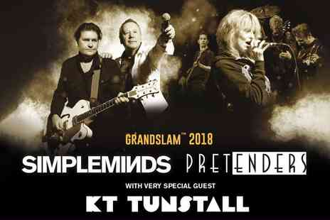 Liz Hobbs Group - Bronze or silver ticket to the Simple Minds and The Pretenders concert - Save 50%