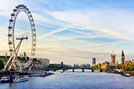 London Eye & River Cruise - Four Star Modern Property Stay For Two with London Highlights - Save 58%