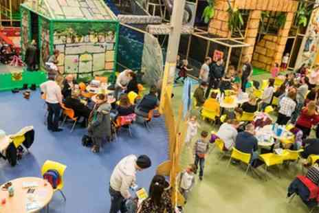 Go Bananas - Indoor Play Centre Entry for Up to Four Children - Save 39%