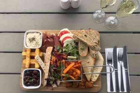 The Masons Arms - Large Mezze or Ploughmans Sharing Platter with Prosecco, Ale or Cider for Two or Four - Save 0%