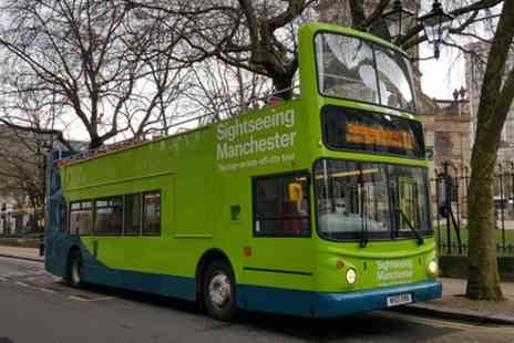 Manchester Bus tours - Sightseeing Birmingham open top bus tour - Save 0%