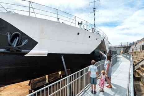 National Museum of The Royal Navy - Portsmouth Historic Dockyard, adult annual pass - Save 44%