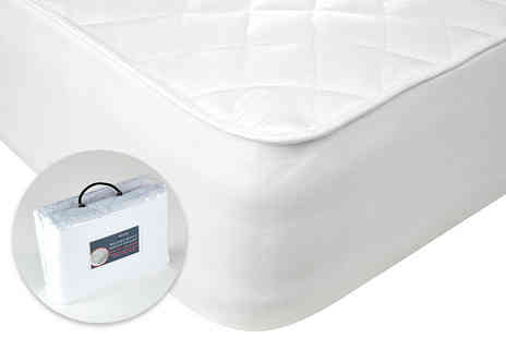 Home Tex - Quilted mattress protector choose from four sizes - Save 50%