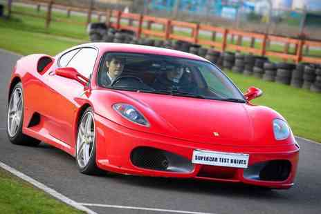 Supercar Test Drives - 12 and up three lap Ferrari driving experience - Save 77%