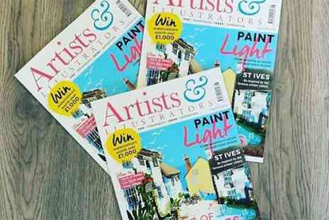 The Chelsea Magazine Company - 12 month subscription to Artists & Illustrators magazine - Save 22%