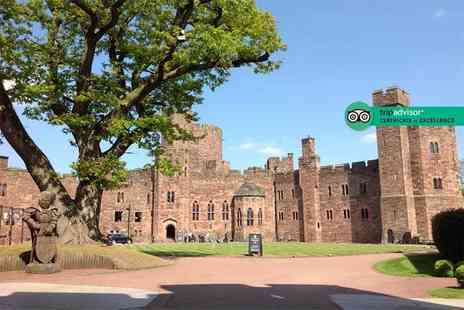 Peckforton Castle - Spa day for one including two 25 minute treatments and a glass of Prosecco - Save 0%