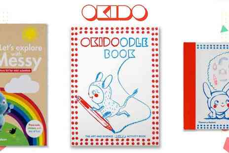 Okido -  Art, Science and More to Keep Kids Learning, Plus Free Delivery - Save 20%