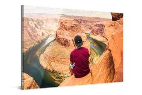 Photo Gifts - Personalised Acrylic and Aluminium Panel in Choice of Size - Save 76%