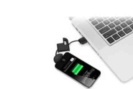 SmartAss Marketing - iPhone Charger USB Keyring - Save 93%