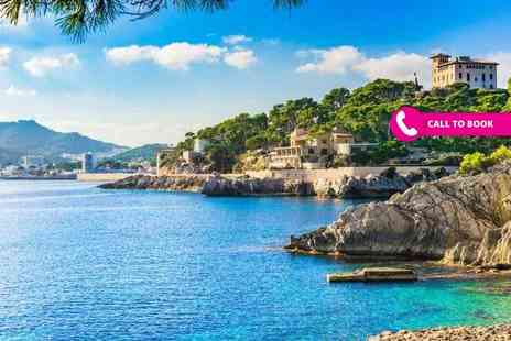Blue Sea Holidays - Seven night all inclusive Mallorca getaway with return flights - Save 21%