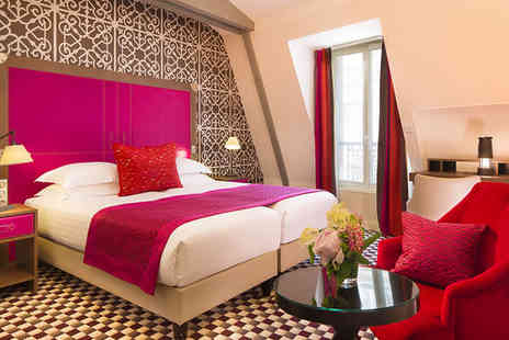 Phileas Hotel - Four Star Boutique City Break in Fabulous Parisian Location for two - Save 69%