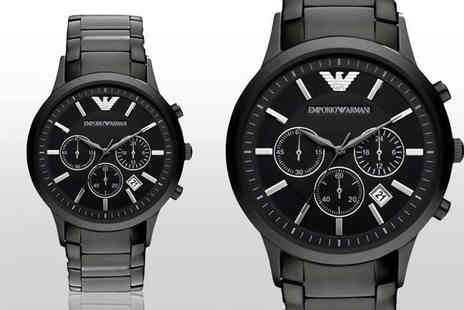 Hip Watches - Mens Emporio Armani AR2453 watch - Save 68%