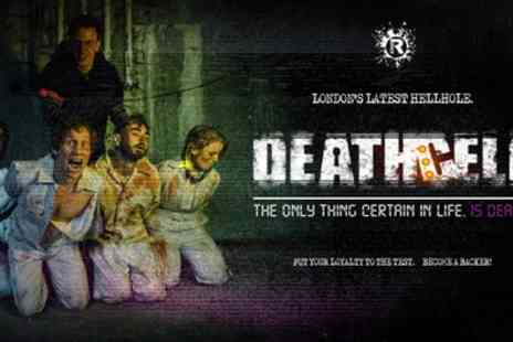 Death Cell - Ticket to Deathcell Escape Experience on 29 August to 2 September - Save 36%
