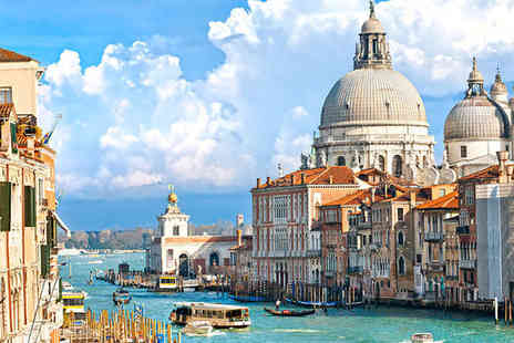 Hotel Carlton on the Grand Canal - Four Star Stay For Two in Venice on the Grand Canal - Save 80%