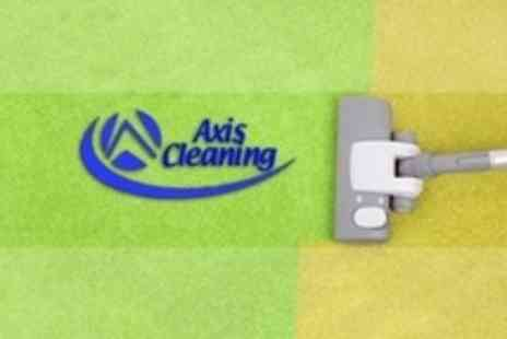 Axis Cleaning - Carpet Steam Clean in Two Rooms - Save 69%