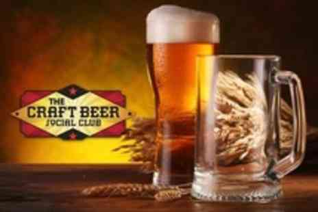 The Craft Beer Social Club - Beer Aroma and Flavour Appreciation Session For Four - Save 67%