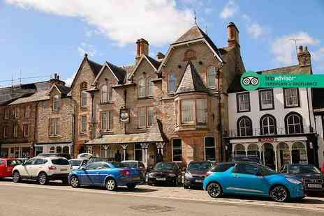 Tufton Arms Hotel - One, two or three night stay for two people including breakfast and a glass of wine each - Save 53%