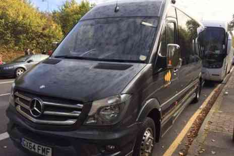 Europe Shuttle - Private Arrival transfer London Heathrow Airport to London in Minibus up to 14 passenges - Save 0%